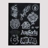 AnyForty A4 Vinyl Sticker Sheet