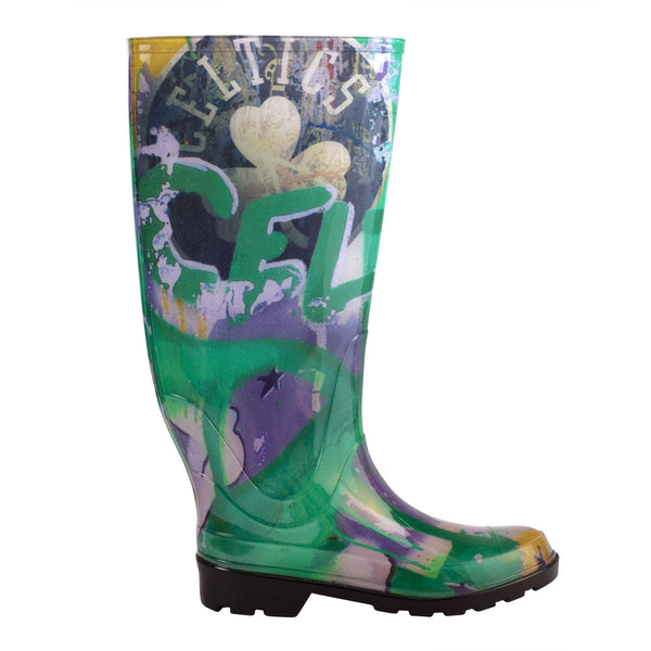 Boston Celtics NBALAB  Women's Rain Boot