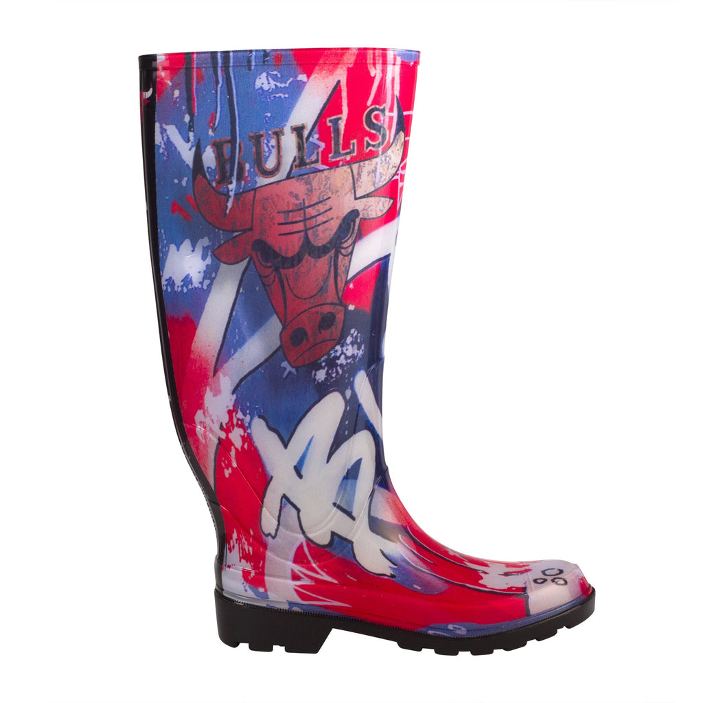 Limited Edition NBALAB Chicago Bulls Women's Rain Boot