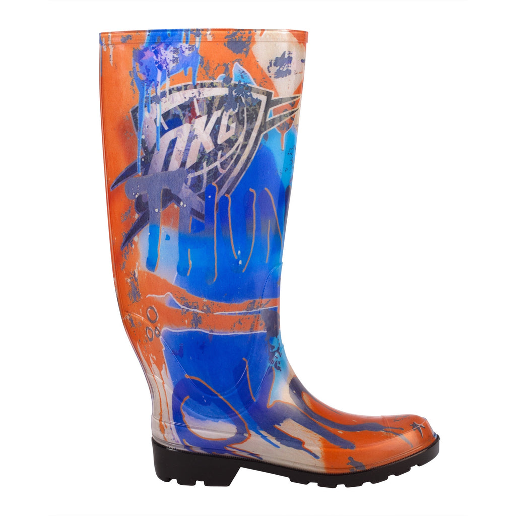 NBALAB Oklahoma City Thunder Women's Rain Boot