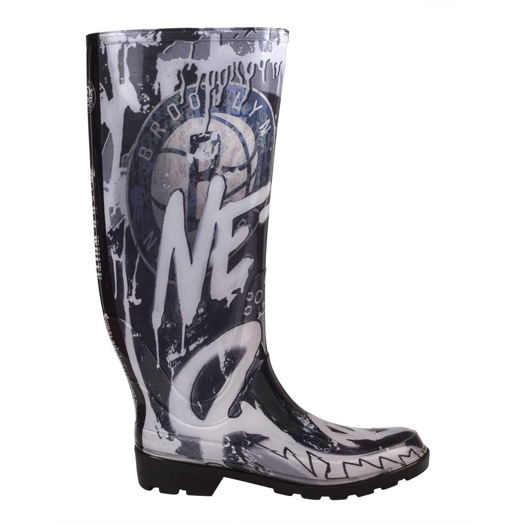 Brooklyn Nets NBALAB  Women's Rain Boot
