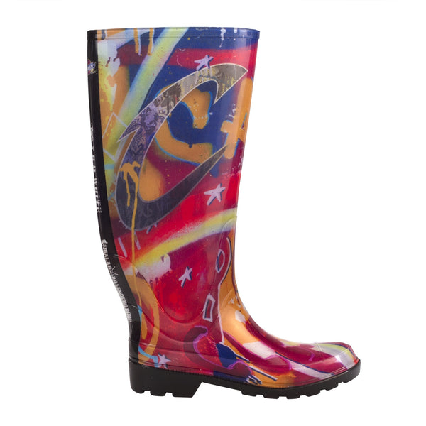 Limited Edition NBALAB Cleveland Cavaliers Women's Rain Boot