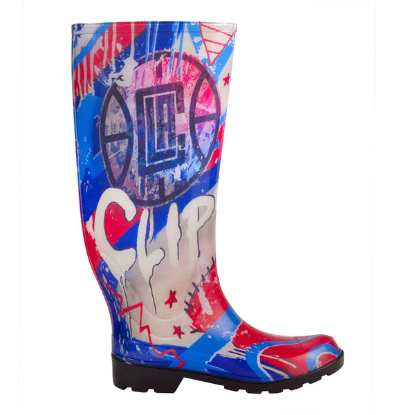 Los Angeles Clippers NBALAB  Women's Rain Boot