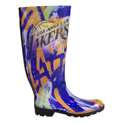 Los Angeles Lakers NBALAB  Women's Rain Boot