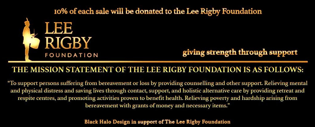 Black Halo Design & Lee Rigby Foundation