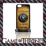 (NEW) ★ GAME OF THRONES ★ COVER/CASE FOR  APPLE IPHONE 5C (SEASON 4) 5 C  - Black Halo Design  - 3
