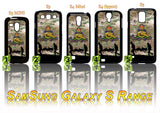 THE ROYAL REGIMENT OF ARTILLERY CASE/COVER FOR SAMSUNG GALAXY S PHONE RANGE #Multi-Cam - Black Halo Design  - 1
