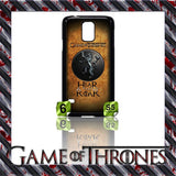 NEW) ★ GAME OF THRONES ★ COVER/CASE FOR SAMSUNG GALAXY S5/SV/I9600 (HOUSES) - Black Halo Design  - 2