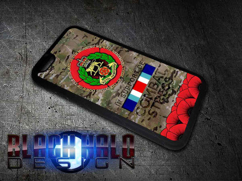 The Royal Hampshire Regiment Phone Cover For iPhone (Case) #CombatStress