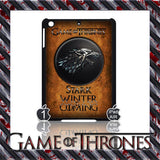 ★ CHOICE OF GAME OF THRONES HOUSE CRESTS ★ CASE/COVER FOR  APPLE IPAD AIR #2 - Black Halo Design  - 10