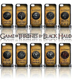 (NEW) ★ GAME OF THRONES ★ COVER/CASE FOR  APPLE IPHONE 5C (SEASON 4) 5 C  - Black Halo Design  - 1