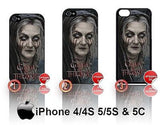GAME OF THRONES LADY STONEHEART CASE/COVER  FOR APPLE IPHONE 4/4S/5/5S/5C STARK - Black Halo Design  - 1
