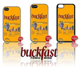 NEW ★ BUCKFAST ★ CASE/COVER FOR APPLE IPHONE 4/4S/5/5S/5C (BUCKY/TONIC WINE) - Black Halo Design  - 1