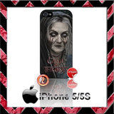 GAME OF THRONES LADY STONEHEART CASE/COVER  FOR APPLE IPHONE 4/4S/5/5S/5C STARK - Black Halo Design  - 3