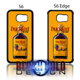BUCKFAST TONIC WINE BOTTLE CASE/COVER FOR SAMSUNG GALAXY S6 & S6 EDGE: BUCKY - Black Halo Design  - 1