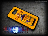 BUCKFAST TONIC WINE BOTTLE CASE/COVER FOR SAMSUNG GALAXY S6 & S6 EDGE: BUCKY - Black Halo Design  - 2