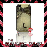 ★ THE WALKING DEAD ★ COVER/CASE FOR APPLE IPHONE 4/4S - Black Halo Design  - 3