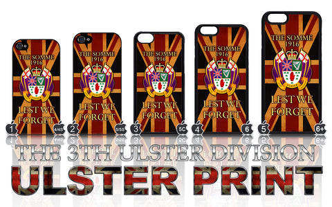 The 36th Ulster Division: Somme 1690: Lest We Forget Apple iPhone Case 4-8 Plus X