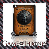 ★ CHOICE OF GAME OF THRONES HOUSE CRESTS ★ CASE/COVER FOR  APPLE IPAD AIR #2 - Black Halo Design  - 6
