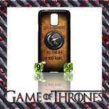 NEW) ★ GAME OF THRONES ★ COVER/CASE FOR SAMSUNG GALAXY S5/SV/I9600 (HOUSES) - Black Halo Design  - 5