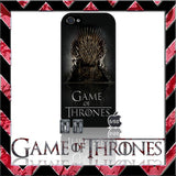 (NEW) ★ GAME OF THRONES ★ COVER/CASE FOR APPLE IPHONE 5 & 5S (SEASON 4) 5 G/5G  - Black Halo Design  - 4