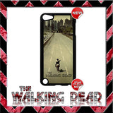 CHOICE OF THE WALKING DEAD CASE/COVER FOR APPLE IPOD TOUCH 5/5G/5TH GENERATION - Black Halo Design  - 6