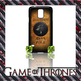 NEW) ★ GAME OF THRONES ★ COVER/CASE FOR SAMSUNG GALAXY S5/SV/I9600 (HOUSES) - Black Halo Design  - 7