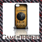 (NEW) ★ GAME OF THRONES ★ COVER/CASE FOR  APPLE IPHONE 5C (SEASON 4) 5 C  - Black Halo Design  - 7