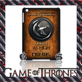 ★ CHOICE OF GAME OF THRONES HOUSE CRESTS ★ CASE/COVER FOR  APPLE IPAD AIR #2 - Black Halo Design  - 9