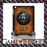 ★ CHOICE OF GAME OF THRONES HOUSE CRESTS ★ CASE/COVER FOR  APPLE IPAD AIR #2 - Black Halo Design  - 3