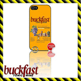 NEW ★ BUCKFAST ★ CASE/COVER FOR APPLE IPHONE 4/4S/5/5S/5C (BUCKY/TONIC WINE) - Black Halo Design  - 3
