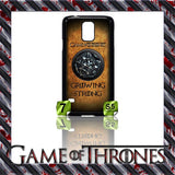 NEW) ★ GAME OF THRONES ★ COVER/CASE FOR SAMSUNG GALAXY S5/SV/I9600 (HOUSES) - Black Halo Design  - 10