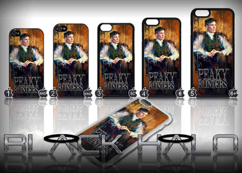 Peaky Blinders: Thomas Shelby art Case/Cover for choice of Apple iPhone 4-6s Plus