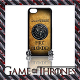 (NEW) ★ GAME OF THRONES ★ COVER/CASE FOR  APPLE IPHONE 5C (SEASON 4) 5 C  - Black Halo Design  - 11
