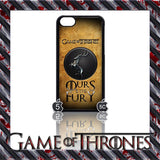 (NEW) ★ GAME OF THRONES ★ COVER/CASE FOR  APPLE IPHONE 5C (SEASON 4) 5 C  - Black Halo Design  - 6