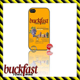 NEW ★ BUCKFAST ★ CASE/COVER FOR APPLE IPHONE 4/4S/5/5S/5C (BUCKY/TONIC WINE) - Black Halo Design  - 4