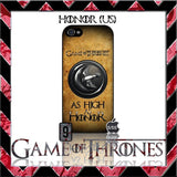 (NEW) ★ GAME OF THRONES ★ COVER/CASE FOR APPLE IPHONE 5 & 5S (SEASON 4) 5 G/5G  - Black Halo Design  - 6