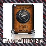 ★ CHOICE OF GAME OF THRONES HOUSE CRESTS ★ CASE/COVER FOR  APPLE IPAD AIR #2 - Black Halo Design  - 5