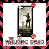 CHOICE OF THE WALKING DEAD CASE/COVER FOR APPLE IPOD TOUCH 5/5G/5TH GENERATION - Black Halo Design  - 5