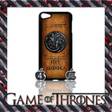 ★ GAME OF THRONES COVER/CASE FOR  APPLE IPOD TOUCH 5TH GENERATION 5/5G/GEN - Black Halo Design  - 5