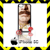CHOICE OF RON BURGUNDY ANCHORMAN 2 CASE/COVER  FOR APPLE IPHONE 4/4S/5/5S/5C - Black Halo Design  - 4