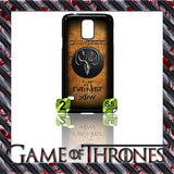 NEW) ★ GAME OF THRONES ★ COVER/CASE FOR SAMSUNG GALAXY S5/SV/I9600 (HOUSES) - Black Halo Design  - 9
