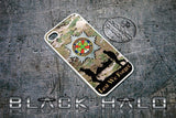 THE IRISH GUARDS COVER/CASE FOR APPLE IPHONE 4/4S IN SUPPORT OF HELP FOR HEROES - Black Halo Design  - 6
