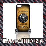(NEW) ★ GAME OF THRONES ★ COVER/CASE FOR  APPLE IPHONE 5C (SEASON 4) 5 C  - Black Halo Design  - 4