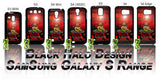 THE REGIMENT OF THE ROYAL ARTILLERY: POPPY CASE/COVER FOR SAMSUNG GALAXY S PHONE RANGE - Black Halo Design  - 1