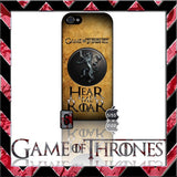 (NEW) ★ GAME OF THRONES ★ COVER/CASE FOR APPLE IPHONE 5 & 5S (SEASON 4) 5 G/5G  - Black Halo Design  - 11