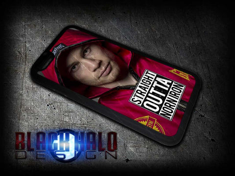 NEW THE JACKAL: CARL FRAMPTON CASE/COVER FOR CHOICE OF APPLE IPHONE 4-6S PLUS - Black Halo Design