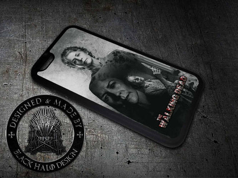 The Walking Dead: Carol Case/Cover for choice of Apple iPhone 4-6s Plus