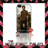★ THE WALKING DEAD ★ COVER/CASE FOR APPLE IPHONE 4/4S - Black Halo Design  - 8
