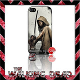 ★ THE WALKING DEAD ★ COVER/CASE FOR APPLE IPHONE 4/4S - Black Halo Design  - 7